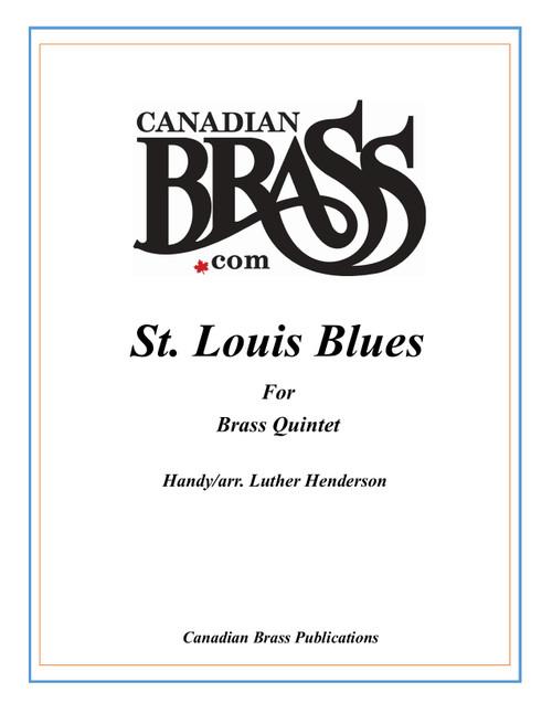 St. Louis Blues Brass Quintet (Handy/ arr. Henderson) PDF download