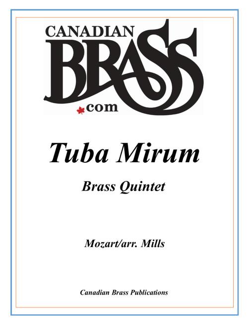 Tuba Mirum Brass Quintet (Mozart/arr. Mills) archive copy PDF download