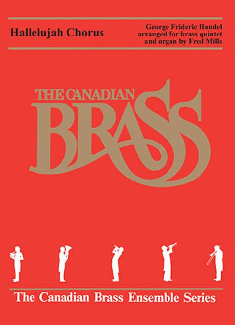 Hallelujah Chorus Brass Quintet with Organ (Handel/ arr. Mills)