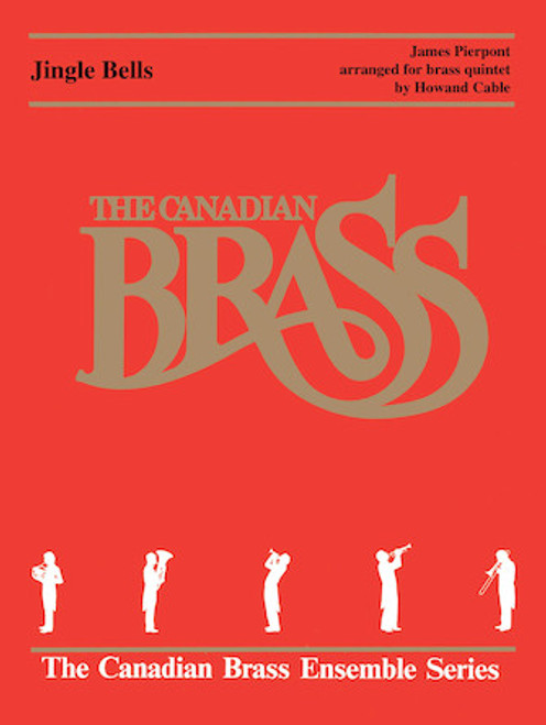 Jingle Bells Brass Quintet with Organ (trad./ Cable)