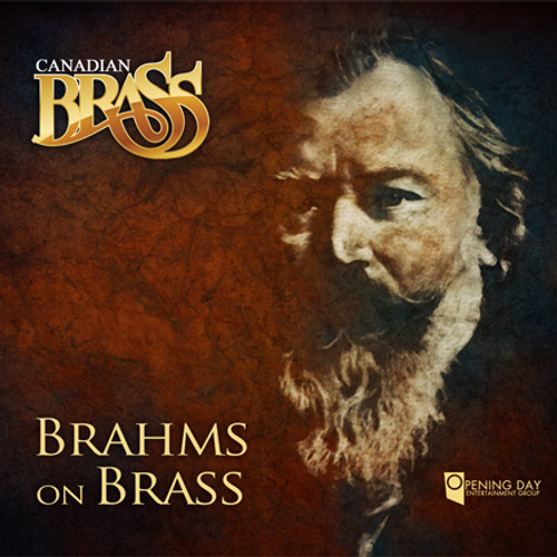 CANADIAN BRASS: BRAHMS ON BRASS CD mp3 (320 kbps) DIGITAL DOWNLOAD / single track downloads available below