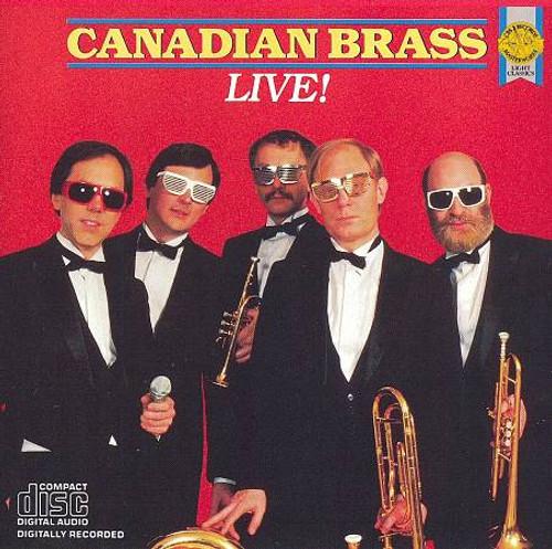 Canadian Brass Live! CD