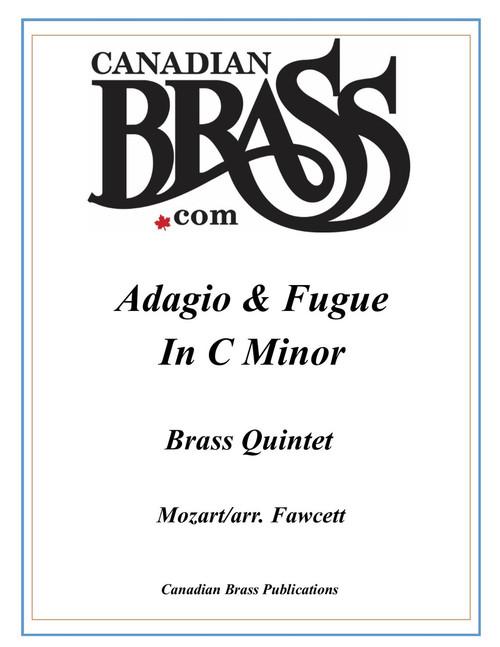 Adagio and Fugue in C minor K.546 Brass Quintet (Mozart/ arr. Fawcet) archive copy