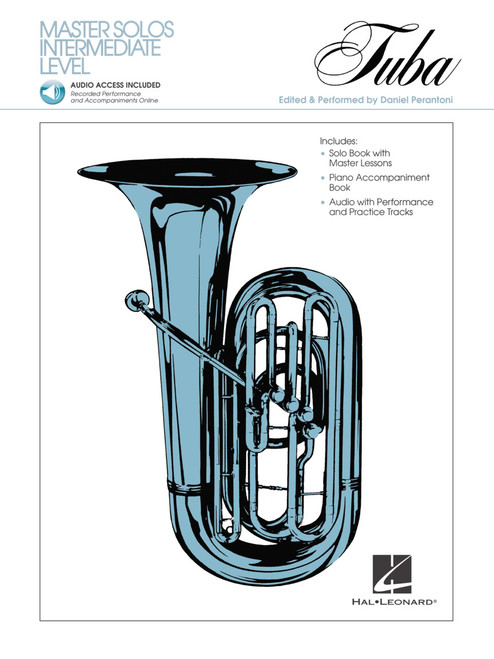Master Solos for Tuba (BC) with Online Audio