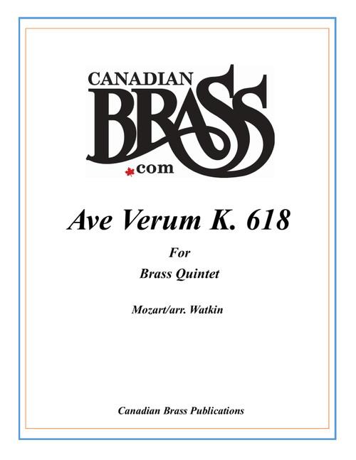 Ave Verum Corpus K. 618 Brass Quintet (Mozart/arr. Watkin)