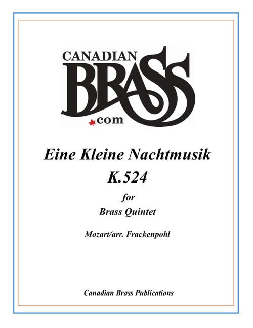 Eine Kleine Nachtmusik K.524 Brass Quintet (Mozart/arr. Frackenpohl) archive copy