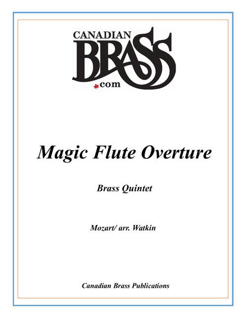 Magic Flute Overture Brass Quintet (Mozart/ arr. Watkin) archive copy