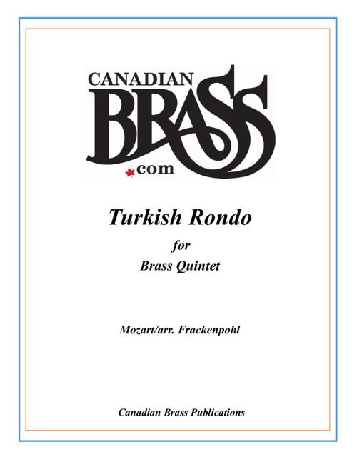 Turkish Rondo Brass Quintet (Mozart/arr. Frackenpohl)