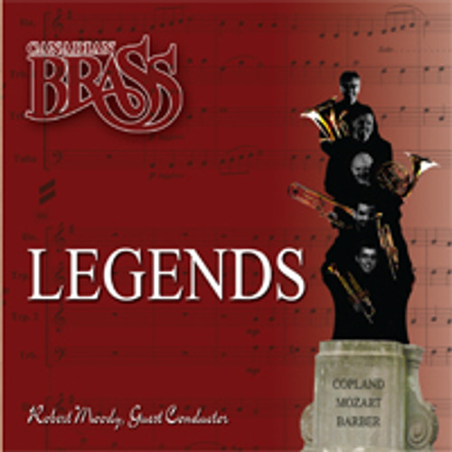 Arrival of the Queen of Sheba from the recording, Canadian Brass: Legends / single track digital download