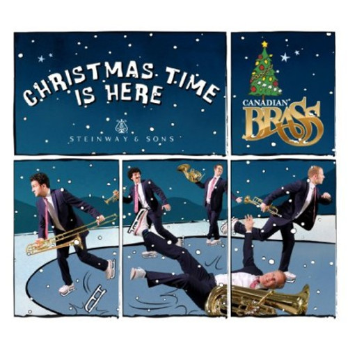 Skating (reprise) from the Canadian Brass recording, Christmas Time is Here / single track digital download