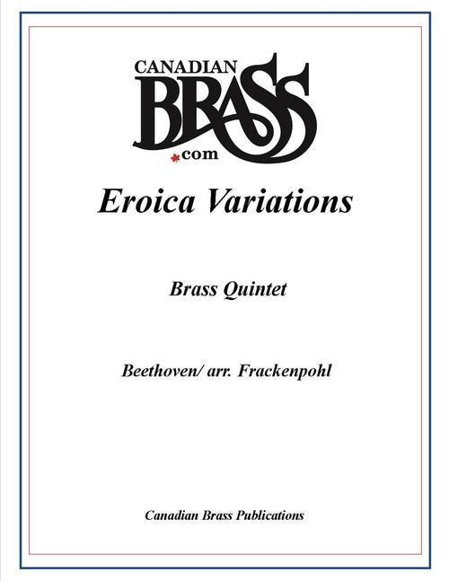 Eroica Variations Brass Quintet (Beethoven/ arr. Frackenpohl) archive copy