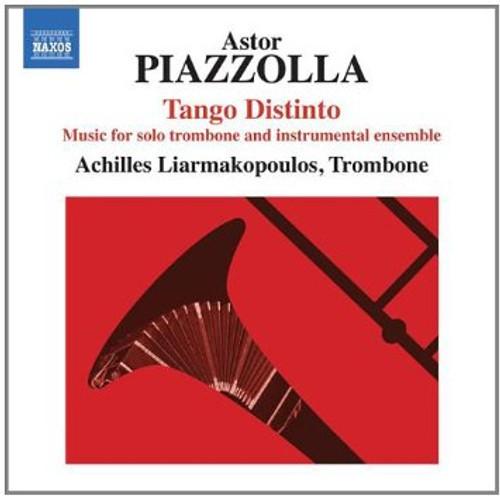 Piazzolla: Tango Distinto for Solo Trombone and Instrumental Ensemble / Achilles Liarmakopoulos - Trombone CD