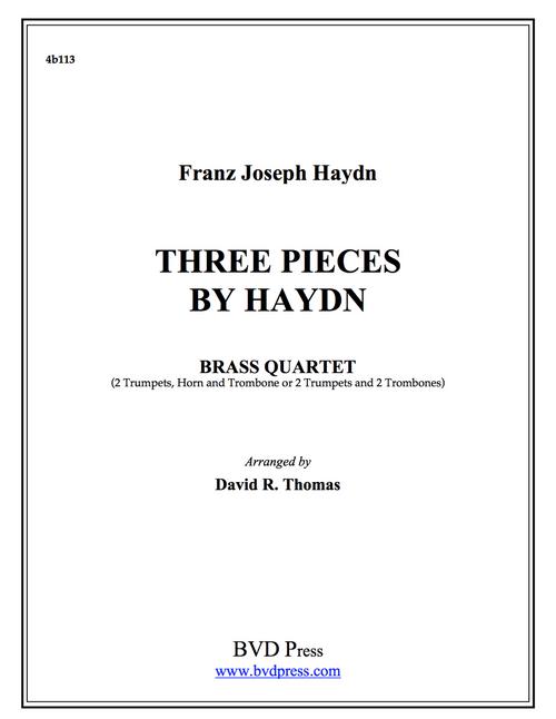 Three Pieces by Haydn Brass Quartet (Haydn/Thomas)
