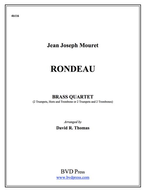 Rondeau Brass Quartet (Mouret/Thomas)