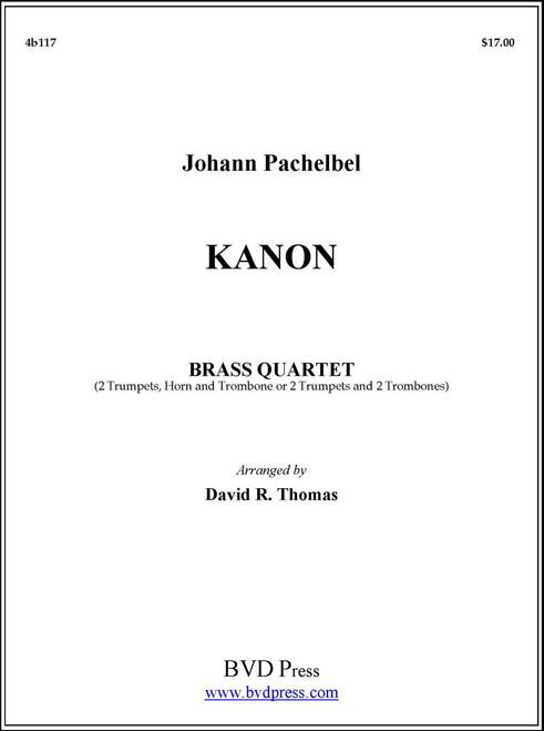 Kanon Brass Quartet (Pachelbel/Thomas)