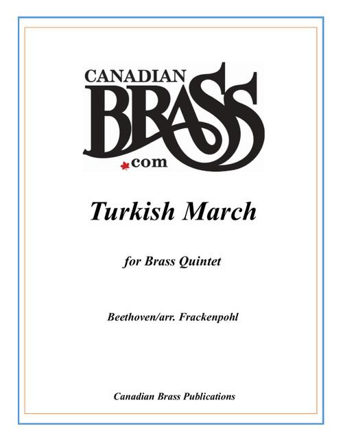 Turkish March Brass Quintet (Beethoven/Frackenpohl)