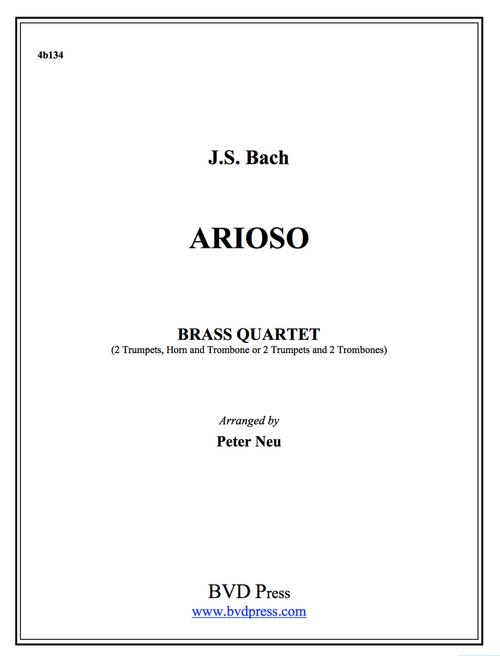 Arioso Brass Quartet (JS Bach/Neu)