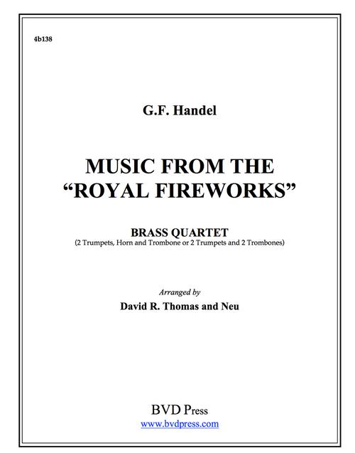 Royal Fireworks Suite Brass Quartet (Handel/Thomas)