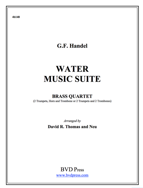 Water Music Suite Brass Quartet (Handel/Thomas)