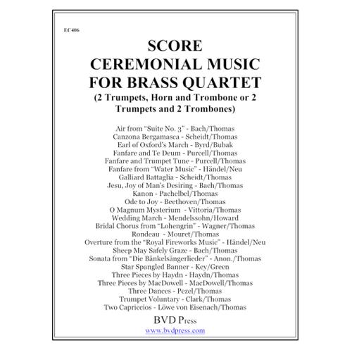 Ceremonial Music for Brass Quartet