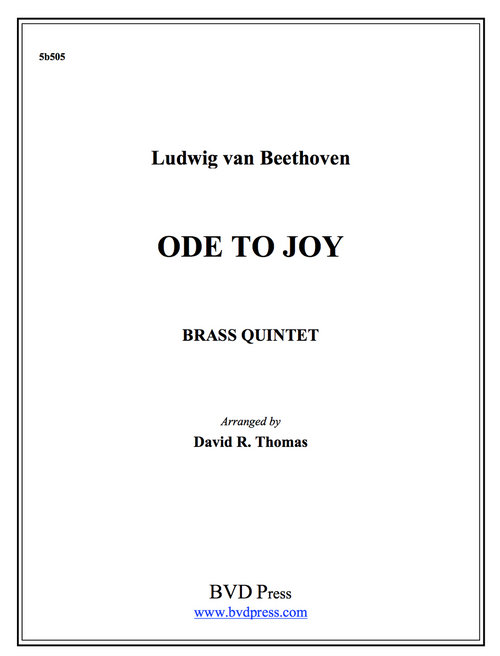 Ode to Joy Brass Quintet (Beethoven/Thomas)
