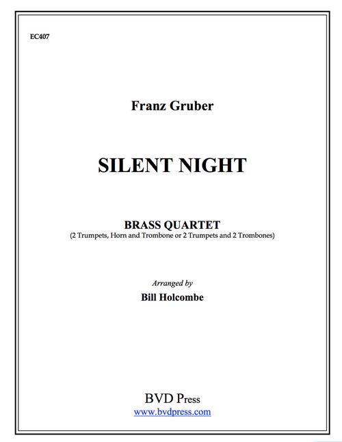 Silent Night Brass Quartet (Trad./Holcombe)