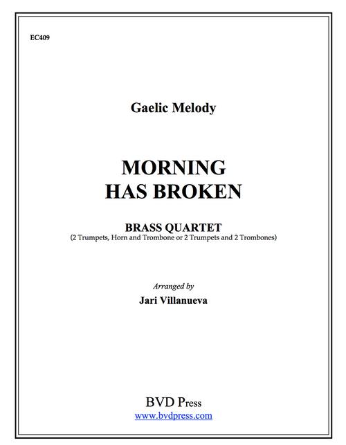 Morning Has Broken Brass Quartet (Trad./ Villanueva)