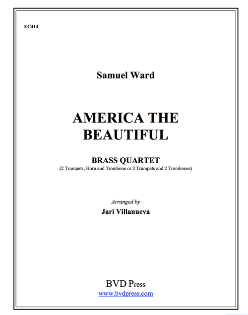 America the Beautiful Brass Quartet (Trad./Villanueva)