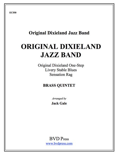 Original Dixieland Jazz Band, Vol. 1  for Brass Quintet (Various/Gale)
