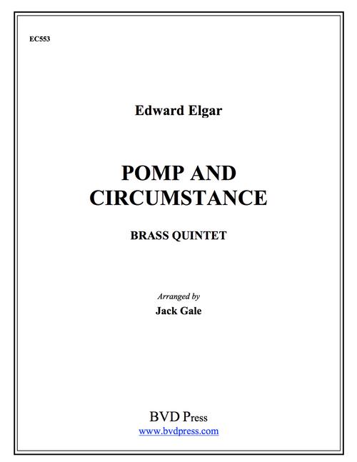 Pomp & Circumstance for Brass Quintet (Elgar/Gale)