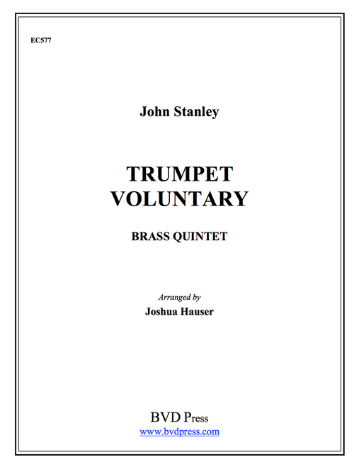 Trumpet Voluntary for Brass Quintet (Stanley/Hauser)