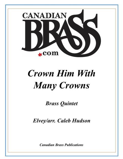 Crown Him With Many Crowns Brass Quintet (Elvey/ arr. Hudson) PDF Download