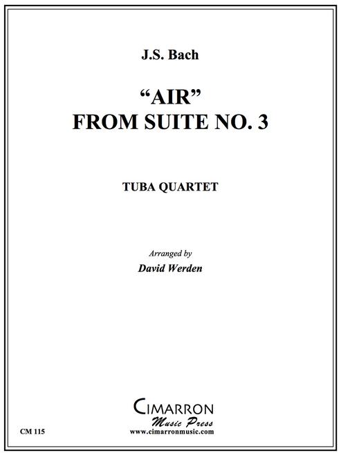 Air from Suite No. 3 Tuba Quartet (EETT) (J.S. Bach/  arr. Werden)