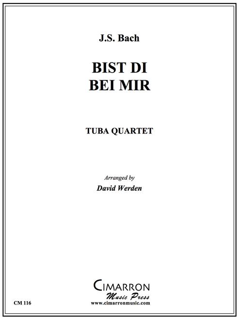 Bist Du Bei Mir Tuba Quartet (EETT) (Bach/ arr. Werden)