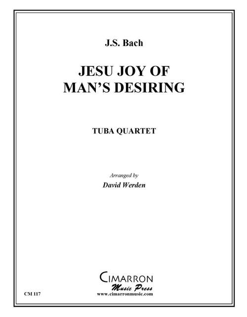 Jesu, Joy of Man's Desiring Tuba Quartet (EETT) (Bach/ arr. Werden)