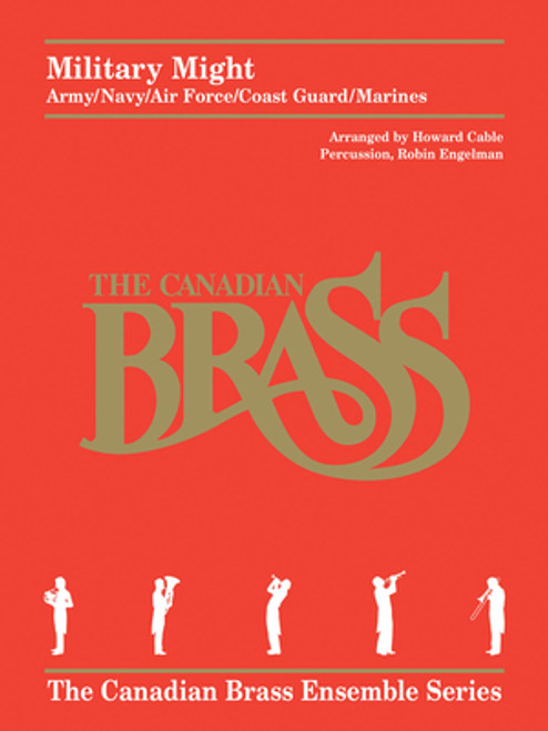 Military Might Brass Quintet w/Optional Percussion (Various/Cable-Engelman