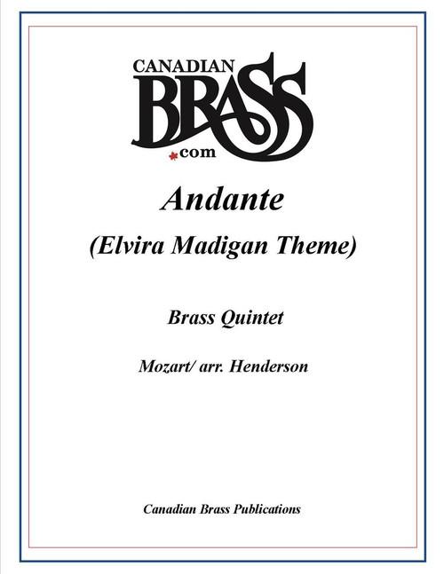 ANDANTE (ELVIRA MADIGAN THEME) BRASS QUINTET (MOZART/ARR. HENDERSON) PDF Download