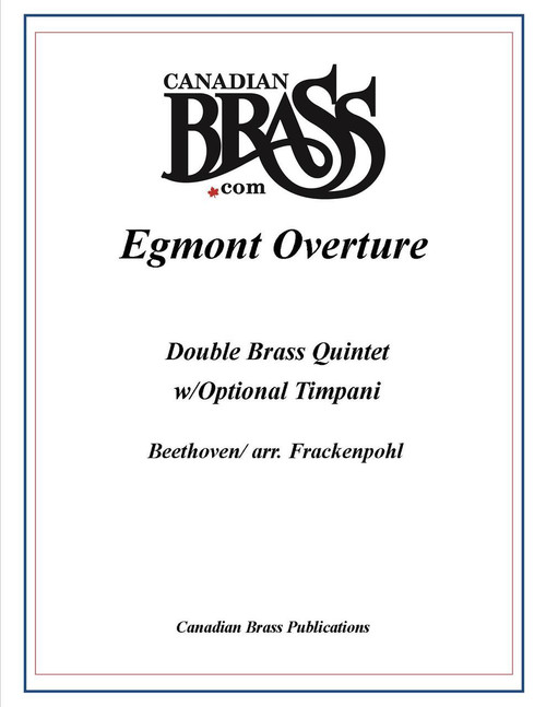 EGMONT OVERTURE DOUBLE BRASS QUINTET (BEETHOVEN/ARR. FRACKENPOHL) PDF Download