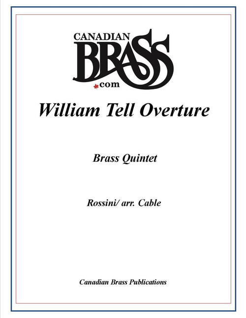 William Tell Overture Brass Quintet (Rossini/ arr. Cable) PDF Download