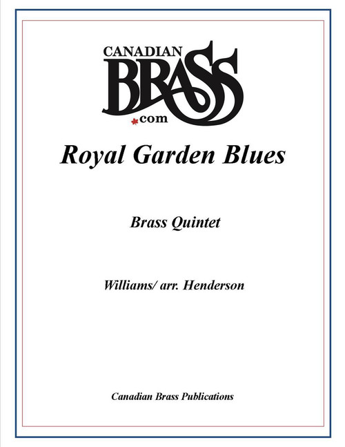 Royal Garden Blues Brass Quintet (Williams/ arr. Henderson) PDF Download