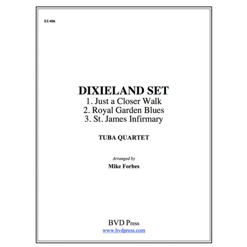 Dixieland Set Tuba Quartet (EETT) (Various/ arr. Forbes)