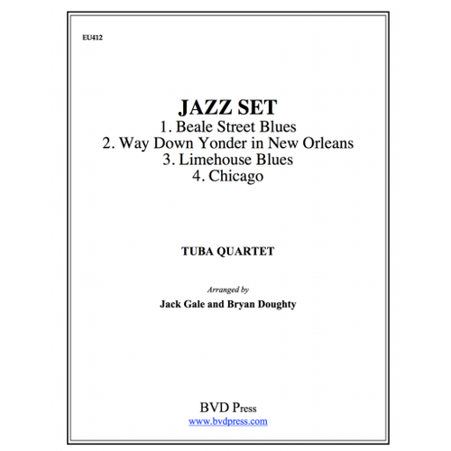 Jazz Set Tuba Quartet (EETT) (Various/ arr. Gale)