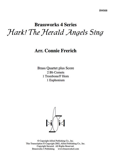 Hark! The Herald Angels Sing Brass Quartet (Trad./ arr. Frerich)