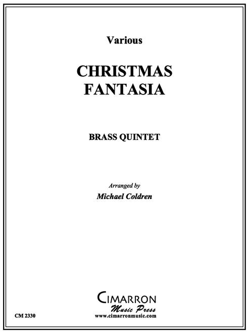 Christmas Fantasia Brass Quintet (Various/arr. Coldren)