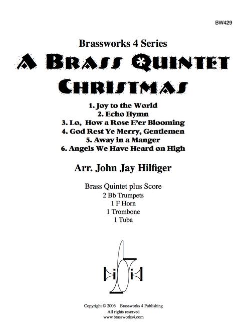 A BRASS QUINTET CHRISTMAS (VARIOUS/HILFIGER) PDF Download