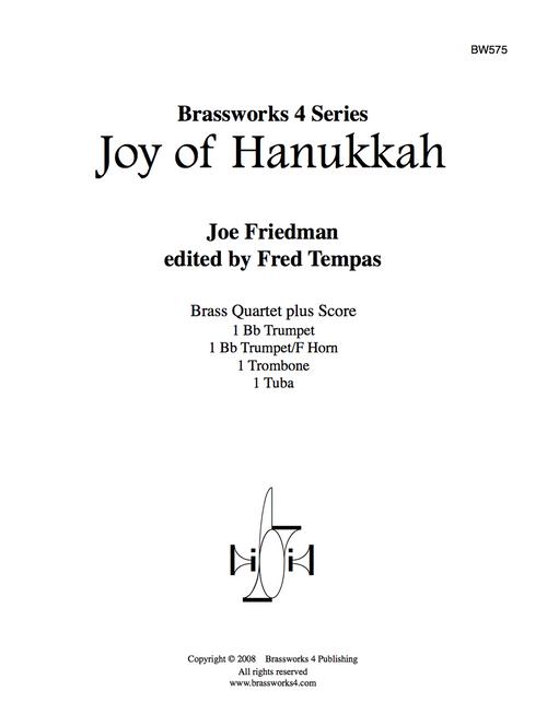 JOY OF HANUKKAH BRASS QUARTET (FRIEDMAN) PDF Download