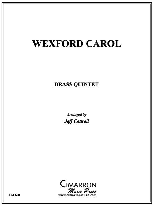 WEXFORD CAROL BRASS QUINTET (TRAD./ COTTRELL) PDF Download