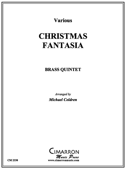 CHRISTMAS FANTASIA BRASS QUINTET (VARIOUS/ARR. COLDREN) PDF Download