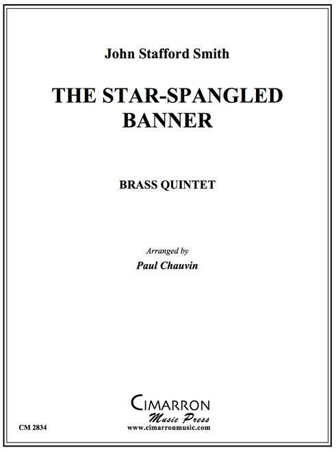 STAR SPANGLED BANNER BRASS QUINTET (ARR. PAUL CHAUVIN) PDF Download