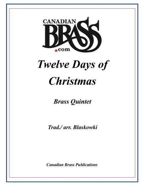 Twelve Days of Christmas Brass Quintet (Trad./ arr. Blaskowski)